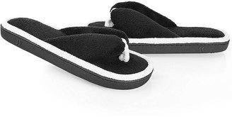Isotoner Cabanas Microterry Thong Slippers