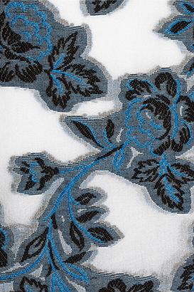 Prabal Gurung Embroidered cotton and silk-blend dress