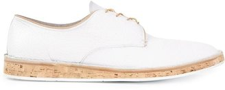 Premiata cork sole Derby shoes