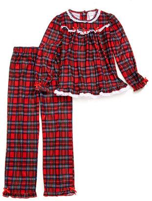 Little Me 2-Piece Plaid Pajamas