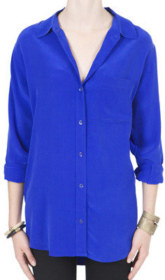 Patterson J. Kincaid Daddy Blouse With Cutouts