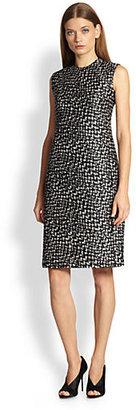 Burberry Printed Taffeta Dress
