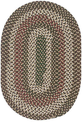 Colonial Mills Brook Farm Reversible Braided Indoor/Outdoor Oval Rug