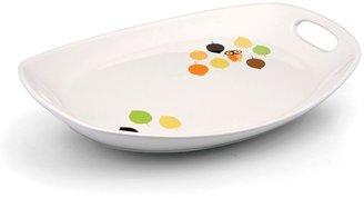 Rachael Ray little hoot 15-in. oval serving platter