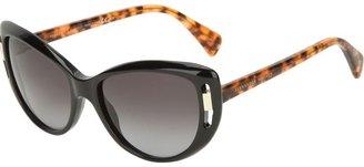 Alexander McQueen cut-out sunglasses