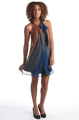 Issho Chiffon Ombre Dress