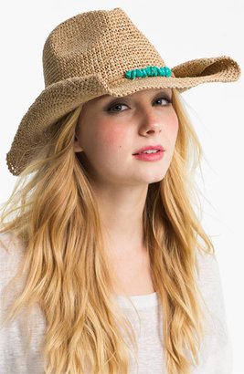 Flora Bella Raffia Cowboy Hat