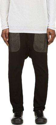 Rick Owens Black See-Through Sarouel Lounge Pants