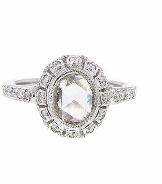 Couture Sethi Handmade Oval Rose Cut Diamond Ring