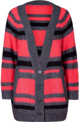 Twenty8Twelve Multicolor Striped Cardigan
