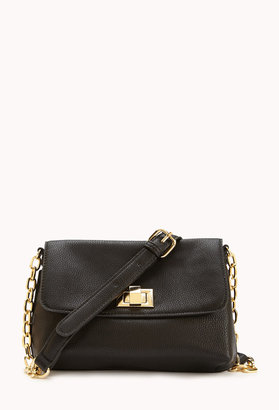 Forever 21 Classic Faux Leather Crossbody