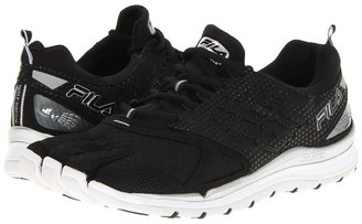 Fila Skele-Toes Virtuous (Black/Black/Metallic Silver) - Footwear