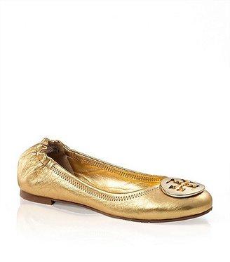 Tory Burch Metallic Reva Ballet Flat