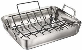 Calphalon Contemporary Stainless Steel Roaster with Rack