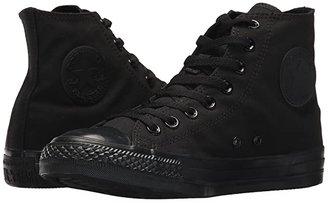 Converse Chuck Taylor(r) All Star(r) Core Hi (Monochrome Black) Classic Shoes