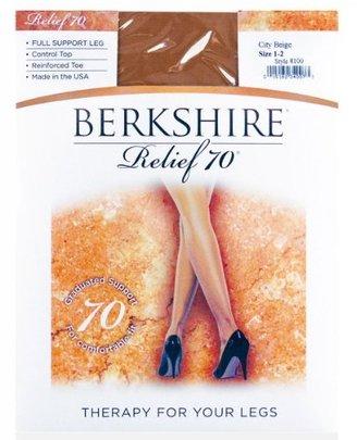 Berkshire Women's Relief Support Control Top Pantyhose 8100 - 70 Denier