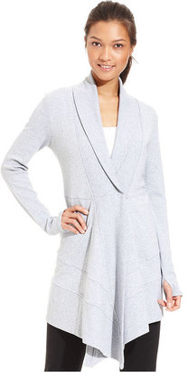 Calvin Klein Sweatshirt, Long-Sleeve Oversized Cardigan