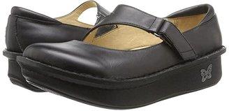 Alegria Dayna Professional (Black Napa Leather) Women's Maryjane Shoes