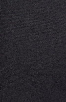 Vince Camuto Embellished Neck Ponte Knit Dress