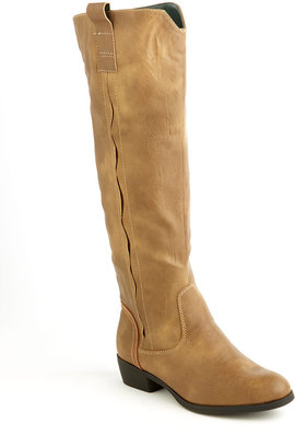 Mia Cavalry Leather Tall Boots
