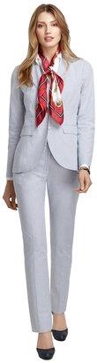 Brooks Brothers Stellita Fit Three-Button Seersucker Jacket