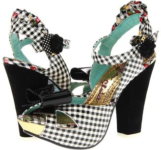 Irregular Choice Love Bug (Black/White) - Footwear