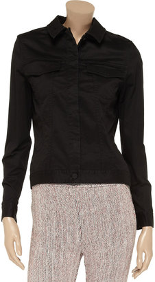 Alexander Wang Stretch-cotton twill jacket