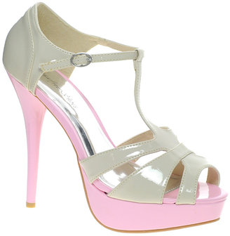 Sugarfree Natty Heeled Sandal