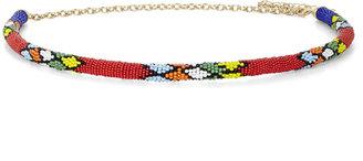 BCBGMAXAZRIA Beaded-Rope Waist Belt