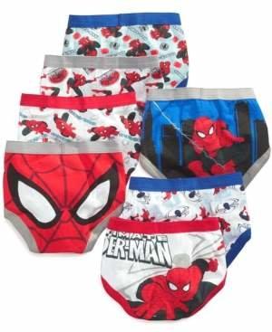Spiderman Spider Man Marvel's 7-Pk. Cotton Briefs, Toddler Boys