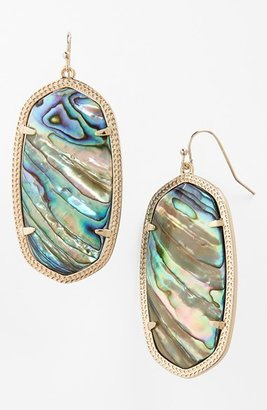 Women's Kendra Scott Danielle - Large Oval Statement Earrings $65 thestylecure.com