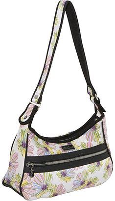 Beach Handbags Harbor Beach Small Zip Top Bag