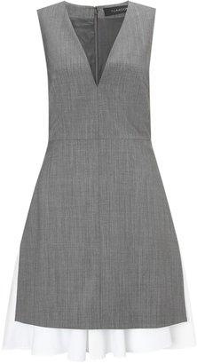 Thakoon Grey Fine Wool Dress