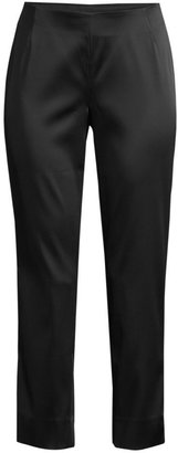 Lafayette 148 New York Belle Satin Cloth Stanton Pants