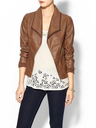 Juicy Couture C.Luce Vegan Leather Jacket