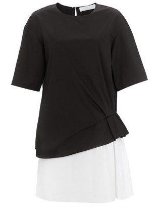 Thakoon Two Tone Layered T-Shirt Dress