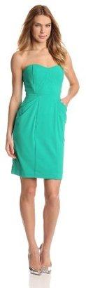 BCBGMAXAZRIA Women's Daphine Bustier Bodice Dress