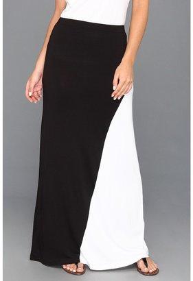 Culture Phit Jenny Maxi Skirt (Black/White) - Apparel