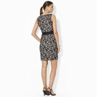 Ralph Lauren Sleeveless Lace Dress