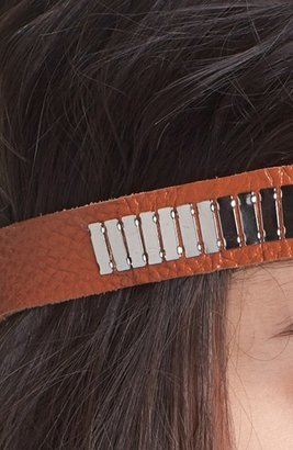 Tasha 'Metallic Bars' Head Wrap