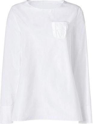 Jil Sander White Cotton Tunic