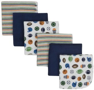Gerber 6PK Washcloth - Multicolor-One Size