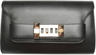 Arden B Buckle Envelope Clutch