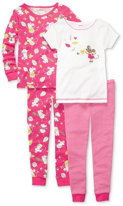 Carter's Kids Set, Little Girls 4-Piece Pajamas