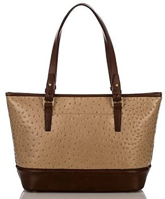 Brahmin Medium Asher Tote Rose Gold Bennington