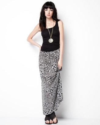 Rebecca Taylor Leopard-Print Maxi Skirt