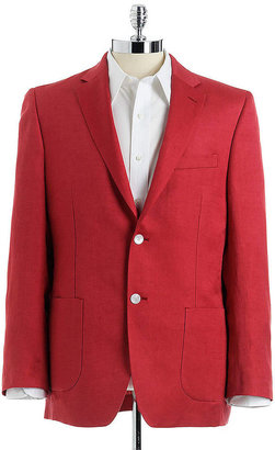 Lauren Ralph Lauren Two-Button Slim-Fit Blazer
