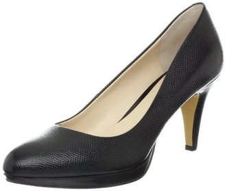 Nine West Women's Selene Platform Pump,Black Reptile,8 M US