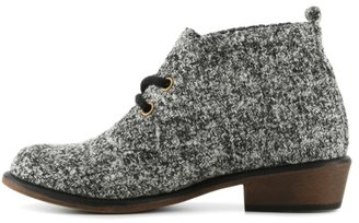 Chinese Laundry Pitch Tweed Bootie