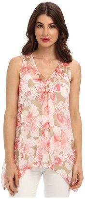 Tommy Bahama Negril Flowers Top $138 thestylecure.com